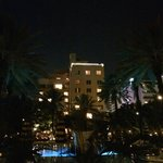 Night view (back of hotel)
