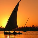 Egyptian Felucca Ride On The Nile