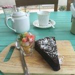 Chocolate Fondant cake!