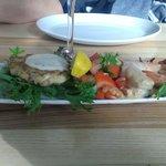 Seafood medley.