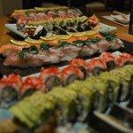 sushi with a ecuadorian touch