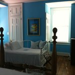 Blue room daybed
