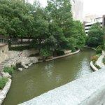 riverwalk in the morning