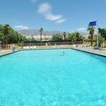 The pool at the Furnace Creek Ranch