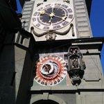 Clock front