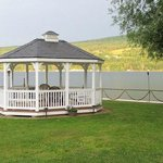 Gazebo by the water