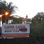 Lava Lave Beach Club - another place to go while waiting for the show