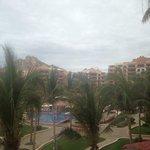 resort on stormy day