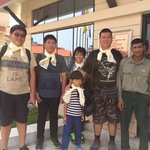 Photo with jungle safari guide, Mr Harka who takes care of the travel programme of hotel guests
