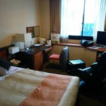 View of the room, good size for 1 or 2 person