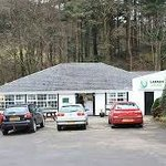 Large Lodge restaurant at Glenariff, County Antrim.