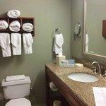 Banheiro impecavel e grande