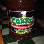 Corky's BBQ sauce