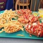 now that's a lobster roll