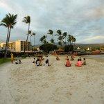 Beach and Group Yoga