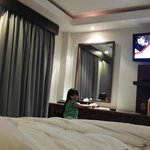 didalam kamar deluxe suite room