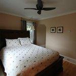 Bedroom of Sunset Suite