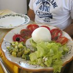 Buffalo Mozarella salad
