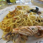 Spagetti with Shellfish