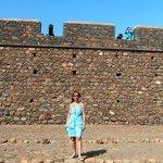 Я и крепость возле Африки