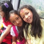 Daughters in Cable Car