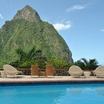 Piton View from Pool