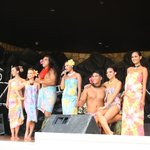The dancers at the luau - how to wear a lava lava