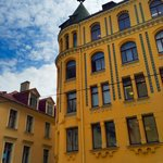 Riga Cat House, from the EAT Riga Old City tour