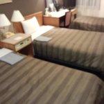 ツインルームを補助ベッドを使用してトリプル利用しました