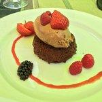 Dessert : Biscuit aux amandes (pas bon)