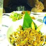 Thai noodle dish looks good but doesnt taste nice