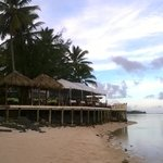 views of the restaurant, we had the beach to ourself