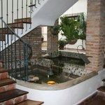 acceso habitaciones piso superior