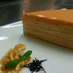 thai Tea layer cake