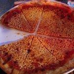 delicious thin crust pizza