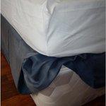 Bett bzw. die Matrazen auf denen wir schlafen mussten.