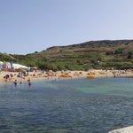 la spiaggia di sabbia