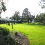 Lawns on the river side