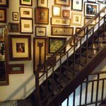 Original hardwood stairs