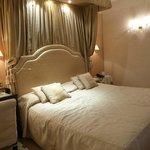Huge, massive bed...