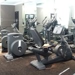 Hotel gym. FREE of charge for guests to use and open 24hr