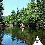 Kayaking on the Morell