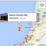 Saline Ceviche Bar en pleine mer sur une ile mystérieuse ....!!