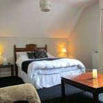 'Left-hand-side' attic room (feels better than it looks!)