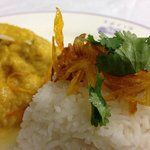 Chicken Korma with steamed rice