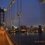going over manhattan bridge