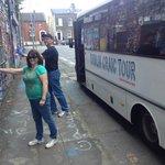 Maureen & Joe from Virginia leaving their signature in Dublin.