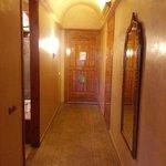 Couloir d'entrée de la chambre