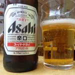 who needs a wine list when you've got good Japanese beer?