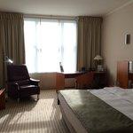 Our room - contemporary, comfy, spacious